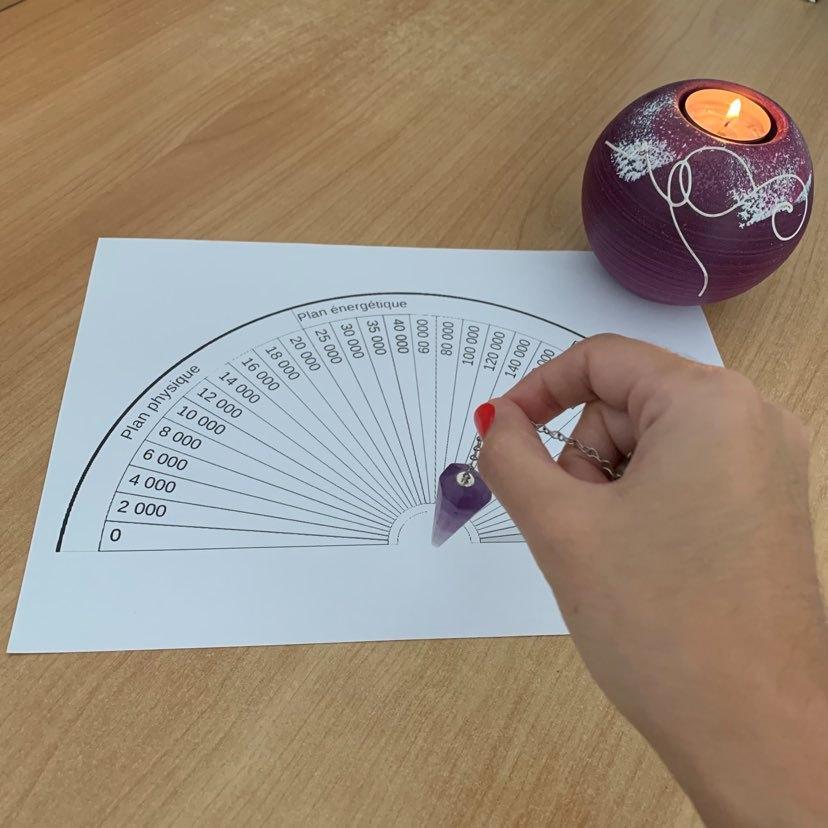 Pendule de radiesthésie
